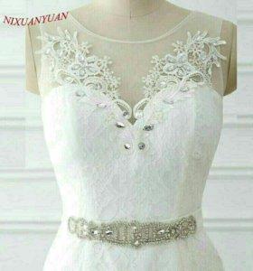новое свадебное платье рыбка