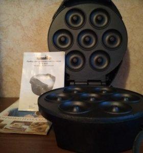 """Прибор для приготовления пончиков """"Smailt WM3606@"""