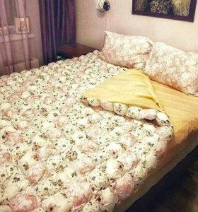 Зефирное одеяло-плед