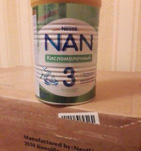 NAN 3 детский кисломолочный.
