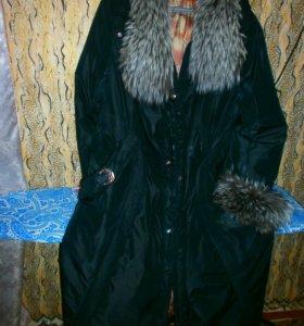 Пальто(осень-зима)трансформер