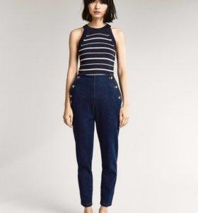 Джинсовые брюки Massimo Dutti новые