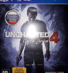Новый диск игра для ps4 Uncharted 4: A Thief's End