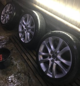 Литые диски на Mazda 6