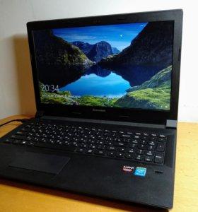 Ноутбук Lenovo B50-70 шустрый с SSD