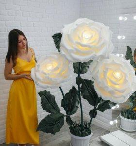 """Торшер Розы """"Райский сад"""""""