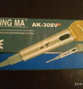 Микрофон профессиональный (бес)проводной