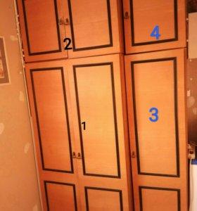 Добротные шкафы для одежды и утвари