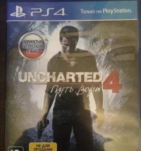Игра на ps4 Uncharted 4:Путь в