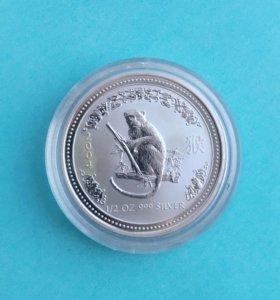Австралия 50 центов 2004. Год Обезьяны.