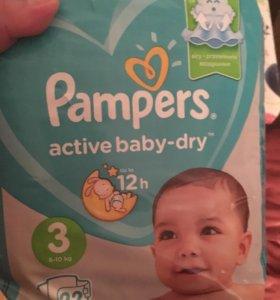 Pampers подгузники Active Baby-Dry 3 (6-10 кг)