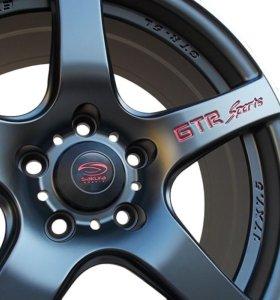 Колеса 17 4шт. (диски+шины) GTR Sports Sakura 17
