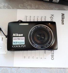 Цифровой фотоаппарат Nikon Coolplix S3100