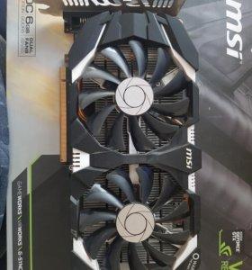 видеокартf Geforce GTX-1060 6 Gt