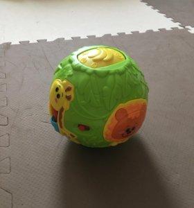 Мяч музыкальный для малыша с 5-6 месяцев
