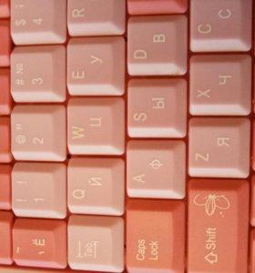 Клавиатура для девочек и девушек подарок на 8 март