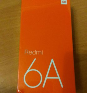Новый Xiaomi Redmi 6a 2/16 черный Global Version