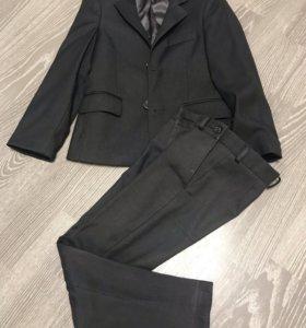 Серый костюм школьная форма van cliff