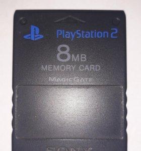 Memory card для PlayStation 2 PS2