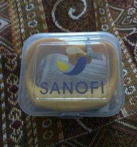 Часы фитнес - браслет- sanofi(Франция)