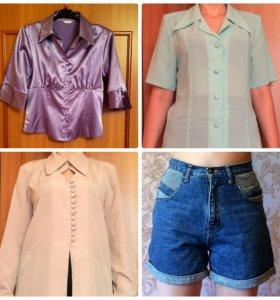 Блузки, шорты