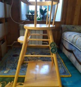Детский стульчик-парта
