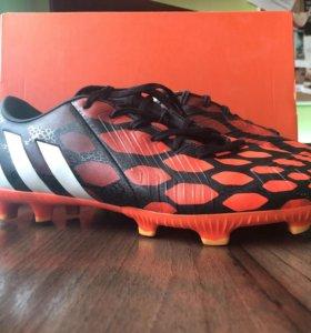 Adidas predator, размер 42(длинна стопы 26.7 см)