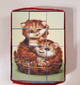 Кубики котята