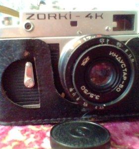 2 Фотоаппарата Zorki 4k,Wizen