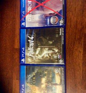 PS4 диски в отличном состоянии обмен , от 900₽