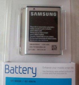 Аккумулятор Новый Samsung