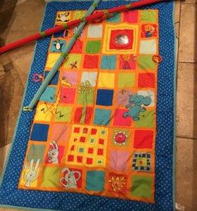 Развивающий Большой коврик для детей Taf toys