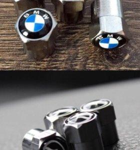 Колпачки на ниппеля BMW и Mazda новые 4 шт