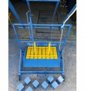 Станок, вибропресс для производства блока