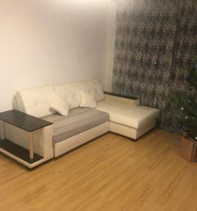 Квартира, 1 комната, 40.8 м²