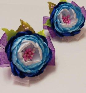 Цветочки-канзаши