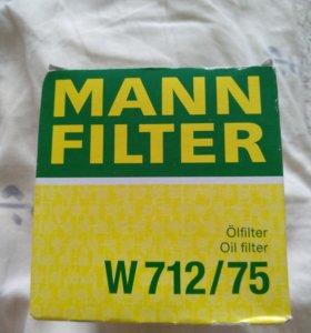 Продам масляный фильтр Mann W 712/75