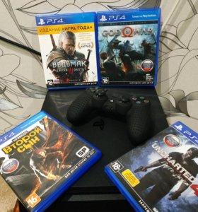 Продаю PS4 Slim 500 Gb