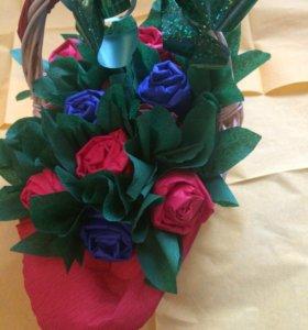 Новая цветочная композиция Зимняя сказка