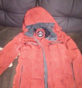 Зимняя куртка подростковая мужская