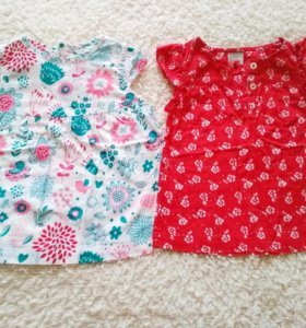 Блузки для малышки