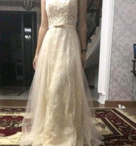 Новое платье одевали один раз