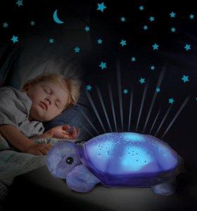 Черепаха со звёздами