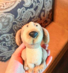 Валяная игрушка Собачка