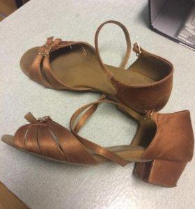 Туфли для танцев 37 размер