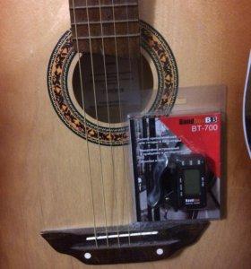 Тюнер для настройки гитары- клипса