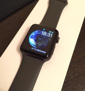 Apple Watch Series 3, 42 мм «серый космос»