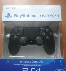 Геймпад PS4 DualShock4 v2 Black Черный