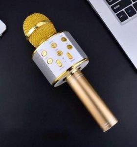 Новый беспроводной караоке-микрофон
