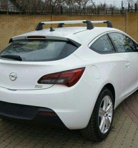 Рейлинги для Opel Astra gtc
